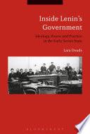 Inside Lenin s Government