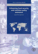 Enhancing Food Security and Nutrition Policy Assistance