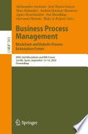 Business Process Management Blockchain And Robotic Process Automation Forum