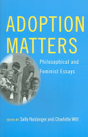Adoption Matters Book