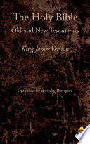 The Holy Bible  King James Version  1769  Book PDF