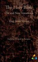 The Holy Bible  King James Version  1769