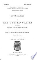 Boundaries of the United States Book PDF