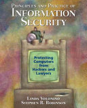 Cover of Principles and Practice of Information Security