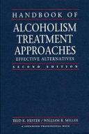 Handbook of Alcoholism Treatment Approaches Book