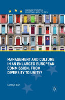 Pdf Management and Culture in an Enlarged European Commission Telecharger