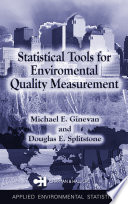 Statistical Tools for Environmental Quality Measurement Book