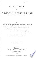 A Text-book of Tropical Agriculture
