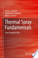 Thermal Spray Fundamentals