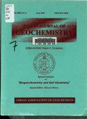 Indian Journal of Geochemistry Book