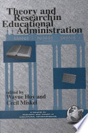 Theory and Research in Educational Administration