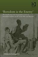 'Boredom is the Enemy' Pdf/ePub eBook