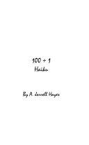 100 + 1 Haiku