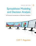 Spreadsheet Modeling   Decision Analysis   Mindtap Business Statistics 2 terms   12 Months Access Card