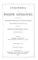 Cyclop  dia of English Literature