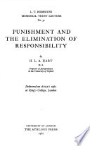 Punishment and the Elimination of Responsibility