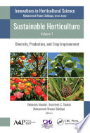 Sustainable Horticulture  Volume 1