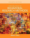 Revel for Introduction to Behavioral Research Methods Access Card
