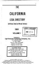 The California legal directory : with Arizona, Hawaii, and ...