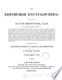 The Edinburgh Encyclopaedia Conducted By D Brewster
