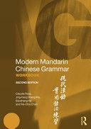 Modern Mandarin Chinese Grammar Workbook Pdf/ePub eBook