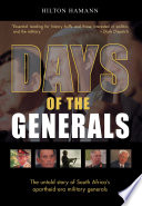 Days of the Generals Book PDF