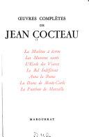 Oeuvres complètes de Jean Cocteau