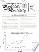 Morbidity and Mortality Weekly Report