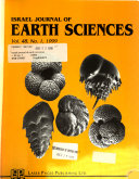Israel Journal of Earth Sciences