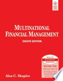 MULTINATIONAL FINANCIAL MANAGEMENT, 8TH ED