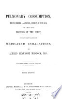 Pulmonary consumption     successfully treated by medical inhalations Book