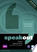 Speakout Starter Students' Book for DVD/Active Book and Mylab Pack