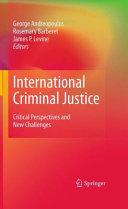 International Criminal Justice Pdf/ePub eBook