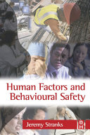 Human Factors And Behavioural Safety Book PDF