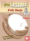 First Lessons Folk Banjo ebook