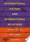 International History and International Relations