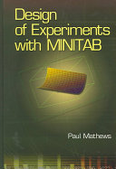 Design of Experiments with MINITAB Book
