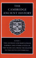 The Cambridge Ancient History Book