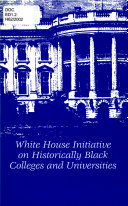 White House Initiative on Historically Black Colleges and Universities