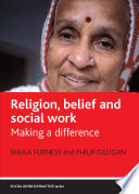 Religion  belief and social work