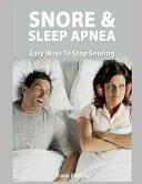 Snoring   Sleep Apnea Book