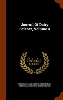 Journal Of Dairy Science