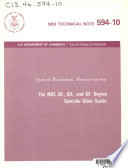NBS Technical Note Book