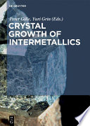 Crystal Growth of Intermetallics
