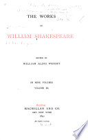 The Works of William Shakespeare  The taming of the shrew  All s well that ends well  Twelfth night  or  What you will  The winter s tale