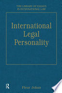International Legal Personality