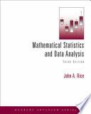 Mathematical Statistics and Data Analysis