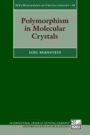 Polymorphism in Molecular Crystals