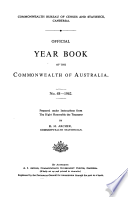 Official Year Book Of The Commonwealth Of Australia No 48 1962