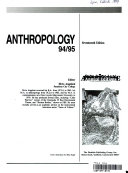 Anthropology 94 95